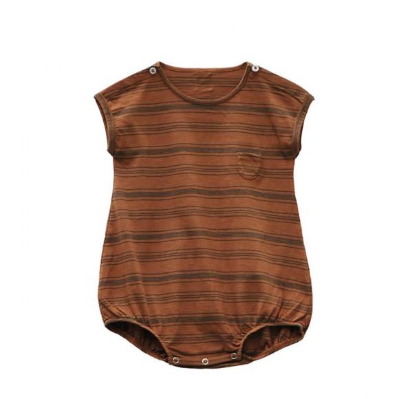 Pepino striped baby romper arizona Le Petit Germain
