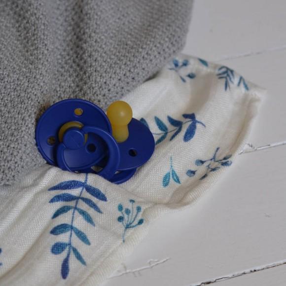Sucettes coloris bleu marine Bibs