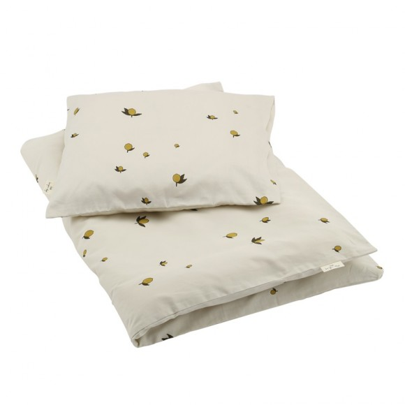Baby bedding lemon