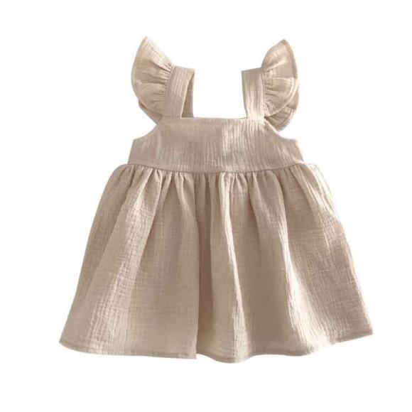 Pinafore dress vanilla Liilu