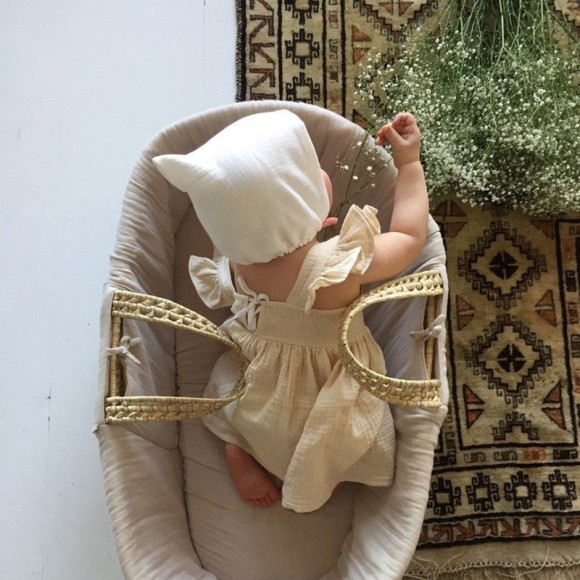Robe pinafore vanille Liilu
