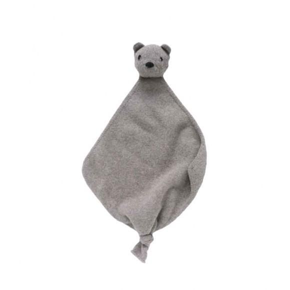 Wool Doll Teddy tokki taupe Hvid