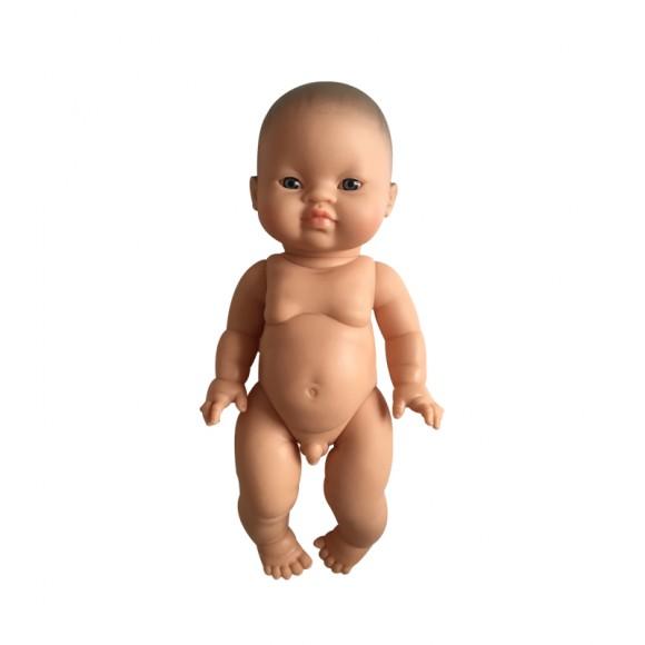 Poupée gordi asiatique garçon nue
