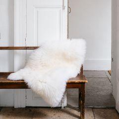 Peau de mouton Halina poils longs Le Bazar des Poupées Russes