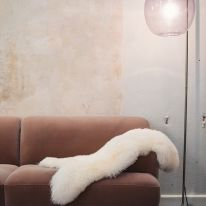 Long fur sheepskin Halina Le Bazar des Poupées Russes