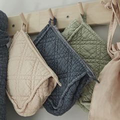 Toilet bag Cleany green