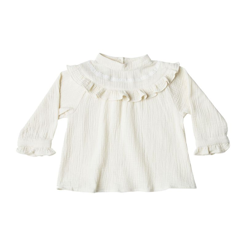 94fd3c6eed7c Savannah blouse girl Rylee and Cru - Yellow Flamingo