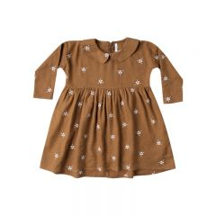 Embroidered collared dress girl Rylee and Cru