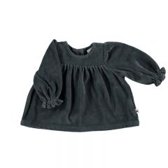 Blouse en velours grise My Little Cozmo