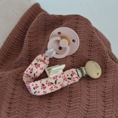 Pacifier strap cherry Konges Slojd