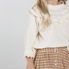 Savannah blouse girl Rylee and Cru