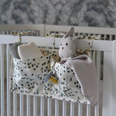 Quilted bedpockets petit fleur Konges Slojd