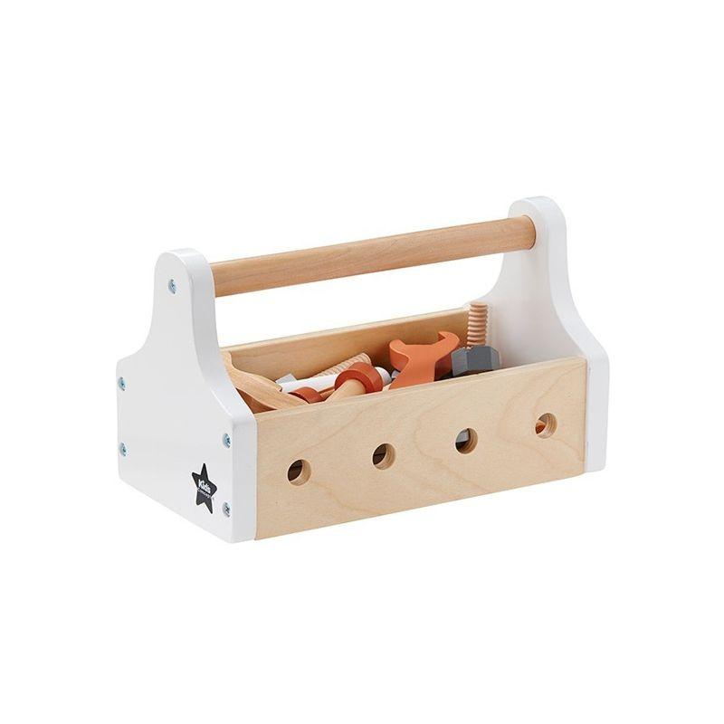 Boîte à outils en bois Naturel - Kid's Concept