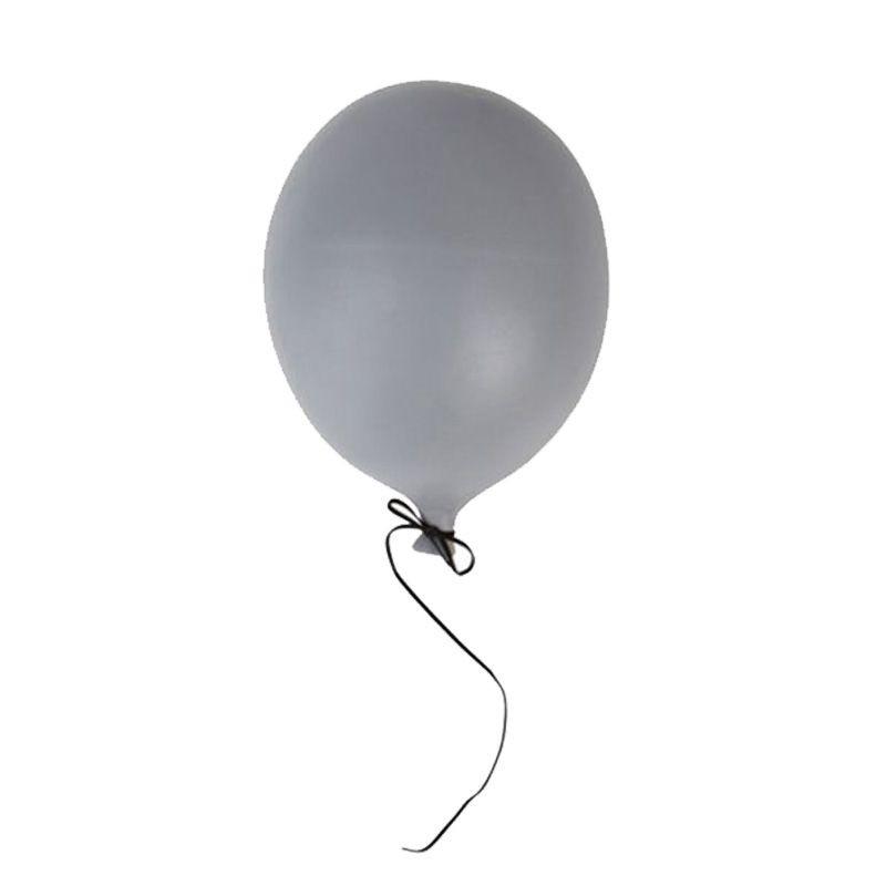 Ballon en céramique gris Byon