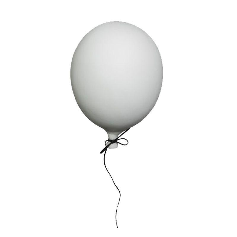Ballon en céramique blanc Byon