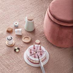 Gâteau d'anniversaire en bois rose Kid's Concept