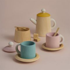 Wood Tea set pastel Raduga Grëz