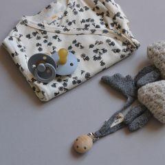 Combinaison nouveaux nés Petites fleurs Konges Slojd