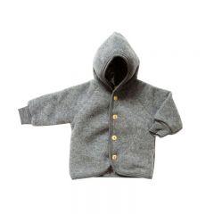 Blouson en laine mérinos gris Engel Natur