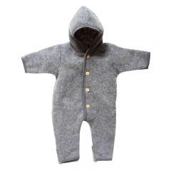 Merino Wool Fleece suit Grey Engel Natur