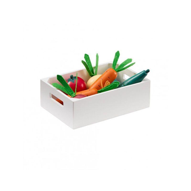 Caisse de légumes en bois mix Kid's Concept