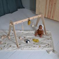 Baby Quilt lemon Konges Slojd