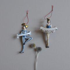 Décoration de Noël Pierrot Konges Slojd