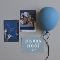 "Post Card ""Joyeux Noël"" Cinq Mai"