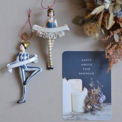 """Carte postale """"Heure bleue"""" Cinq Mai"""