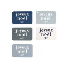 """Etiquettes cadeaux """"Joyeux Noël"""" Cinq Mai"""