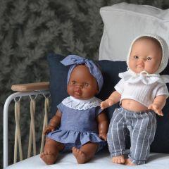 """Ensemble vêtements pour poupée """"Joséphine"""" Paola Reina"""