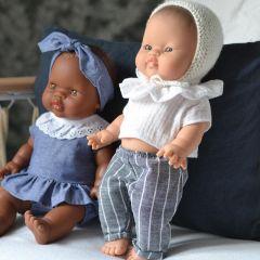 """Ensemble vêtements  pour poupée """"Suzie"""" Paola Reina"""