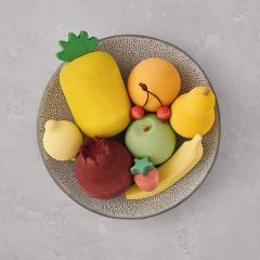 Ensemble fruits en bois Raduga Grez