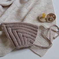 Knitting beguin goblin sand Le béguin pour toi
