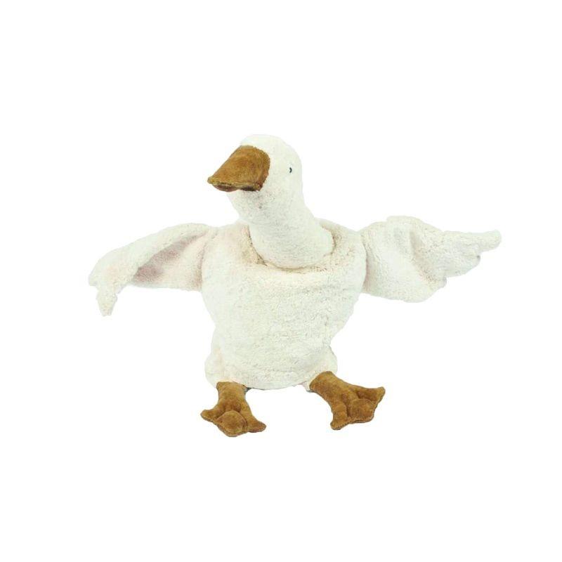 Doudou bouillotte oie blanche Senger Naturwelt