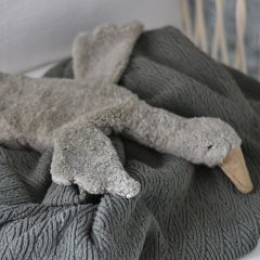 Doudou bouillotte oie grise