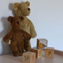 Floppy animal bear small beige Senger  Naturwelt