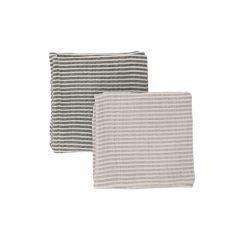 2 packs muslin cloth striped Konges Slojd