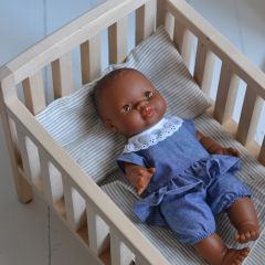 Lit de poupée en bois Pinchtoys