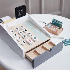 Jouet caisse enregistreuse en bois Kids Concept