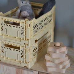 Folding crate mini banana Aykasa