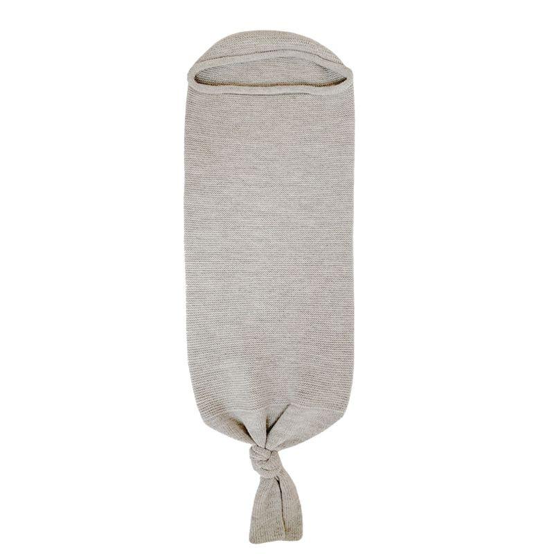 Cocoon merinos grey melange Hvid
