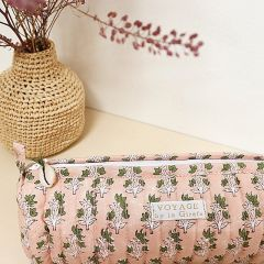 "Pencilcase ""banc rose"" Inspirations by la girafe"
