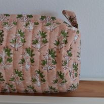 "Trousse d'école ""banc rose"" Inspirations by la girafe"