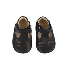 Babies Tippi t-bar black Young soles