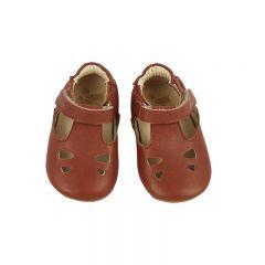Babies Tippi t-bar cinnamon Young soles