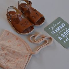 e5a5a95a4 Sandals Belle chestnut brown Young soles Sandals Belle chestnut brown Young  soles