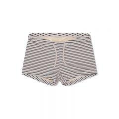 Soleil uni swim shorts stripe