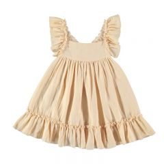 Robe pinafore vanille