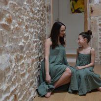 Robe longue rainforest femme Rylee and Cru